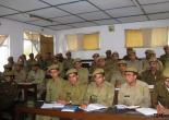 CLASSROOM OF TRAINING SESSION OF FOREST GUARDS IN FTI CHAIL